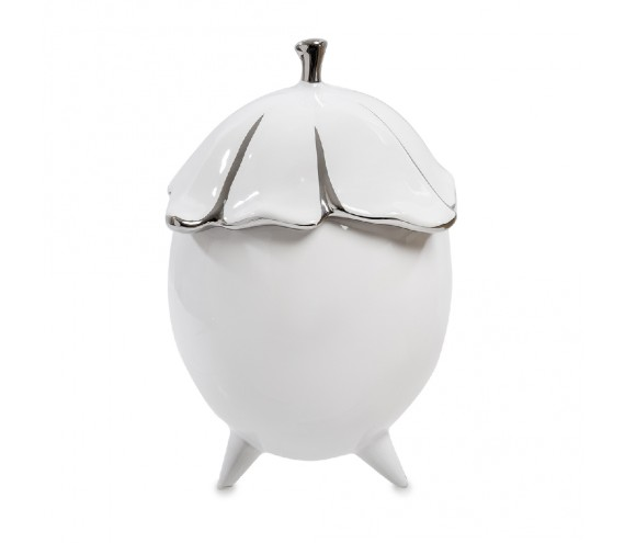 Декоративная ваза с крышкой