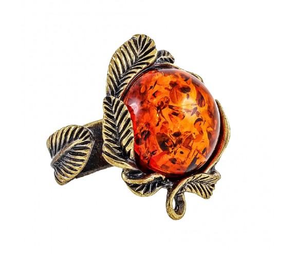 Кольцо Ива (коньячный)