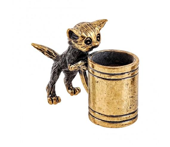 Котик с кружкой без подставки