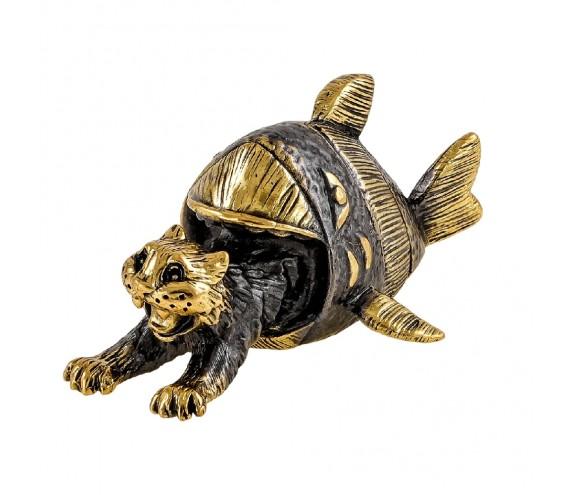 Кот не удачная рыбалка без подставки
