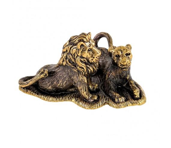 Лев с львицей без подставки