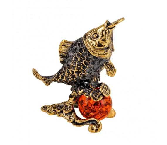Рыбка Денежная на шарике Фен-шуй