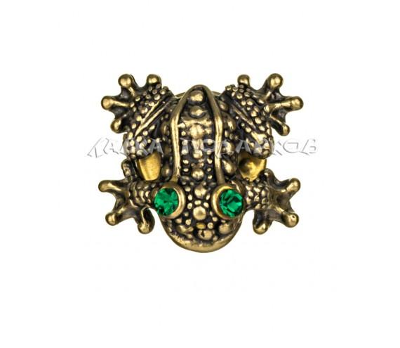 Брошь «Лягушонок»