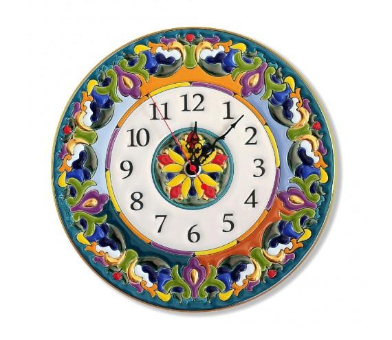 Часы фарфоровые