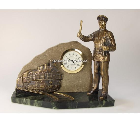 """Часы """"Железная дорога"""""""