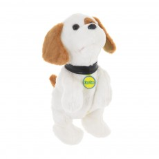 Ласковый щенок (белый)