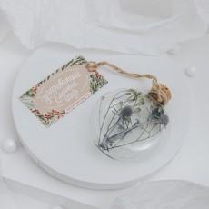 Медальон Теплый (8 см)