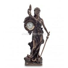 """Статуэтка-часы """"Фемида - богиня правосудия"""""""