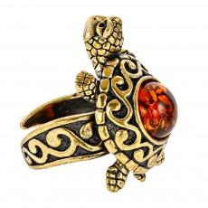 Кольцо Черепаха Удача