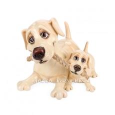 Лабрадор со щенком