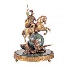 Георгий Победоносец на шаре в шлеме