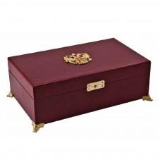 Коробка для подстаканников на ножках с гербом