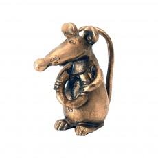 Крыса с бубликом (м.) на пластине