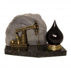 """Сувенир """"Нефтяная качалка с каплей нефти"""""""